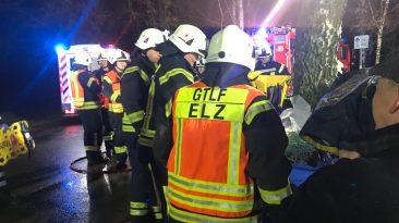 Einsatz für die Feuerwehr Elz