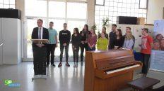 Landrat Michael Köberle verleiht Jugendfriedenspreis