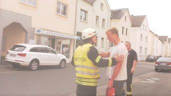Einsatz für die Feuerwehr Elz - Explosion im Hotel - Teil 1