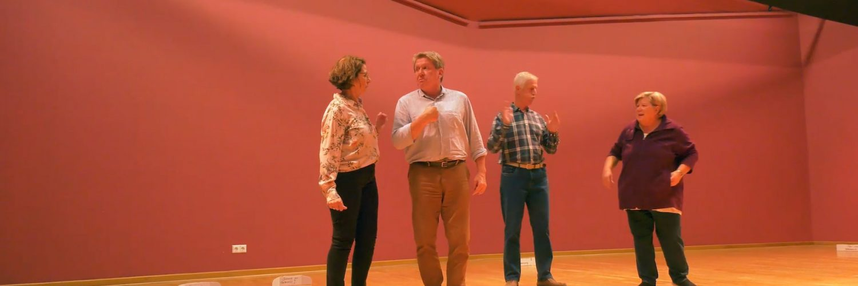 """Wir sind dann mal weg"" - Konzertankündigung der Theatergruppe Villmar 2019"
