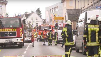 Einsatz für die Feuerwehr Elz – Explosion im Hotel – Teil 2